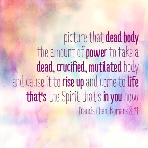 The Cross and the Spirit Within You – Equip God's People